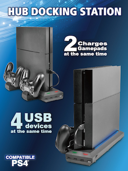 PlayStation 4 Hub and Docking Station